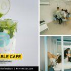 """""""Timetable Cafe"""" คาเฟ่สีฟ้าพาสเทลเมืองอุบล (เปิดใหม่2019) โดย #รีวิวอีสาน #รีวิวอุบล reviewesan.com"""